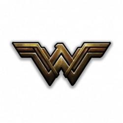 Metallic Wonder Woman Logo...