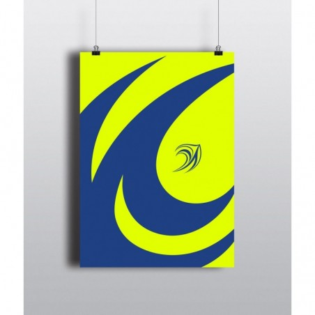 DD Logo Hues - 12 X 18 (in) 300 gsm Poster