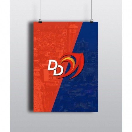 DD Watermark - 12 X 18 (in) 300 gsm Poster