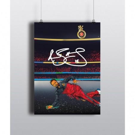 Signature ABD Dive - 12 X 18 (in) 300 gsm Poster