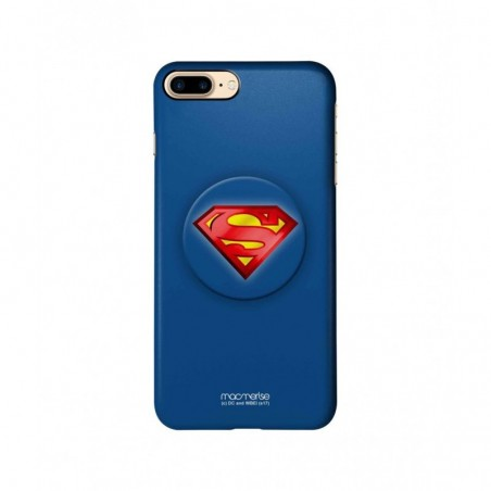 Logo Superman - Pro Case for iPhone 7 Plus With Pop Grip