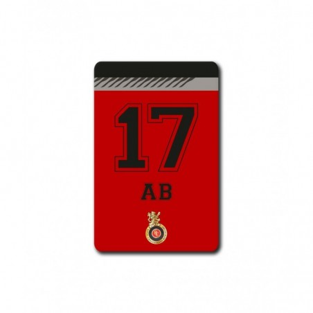Home Jersey ABD 17 - 3.5 X 4.5 (in) Coasters