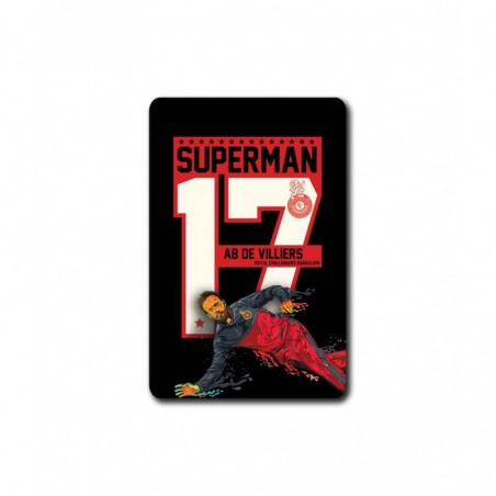 RCB Superman 17 - 3.5 X 4.5 (in) Coasters