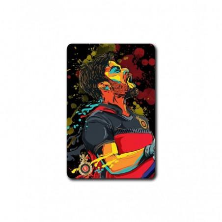 Splash Illustration Virat - 3.5 X 4.5 (in) Coasters
