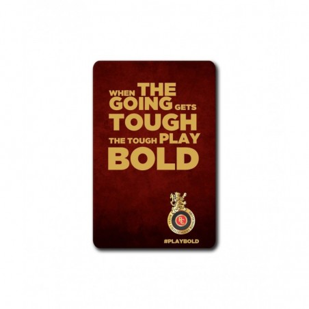 Tough Play Bold - 3.5 X 4.5 (in) Coasters