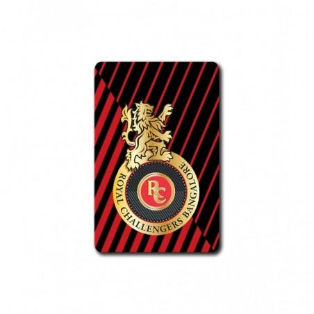 RCB Stripe Logo - 3.5 X 4.5 (in) Coasters