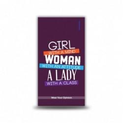 Girl Woman Lady - 4000 mAh...