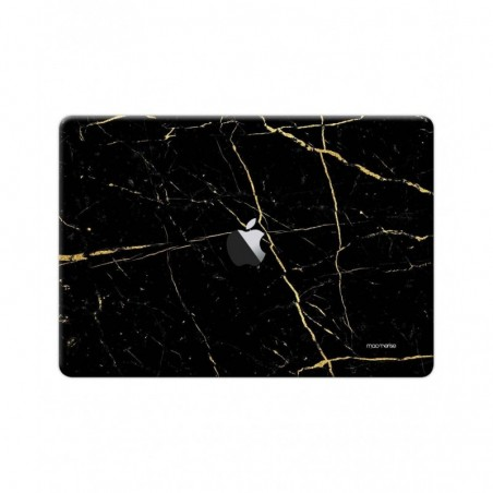 "Marble Black Onyx - Full Body Wrap for Macbook Air 13"" (2018)"
