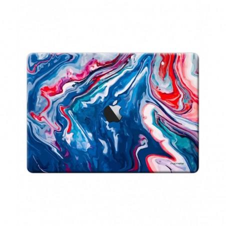"Liquid Funk Blue - Full Body Wrap for Macbook Air 13"" (2018)"