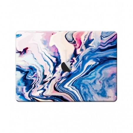 "Liquid Funk Pinkblue - Full Body Wrap for Macbook Air 13"" (2018)"