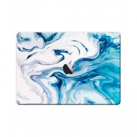 "Liquid Funk Turquoise - Full Body Wrap for Macbook Air 13"" (2018)"