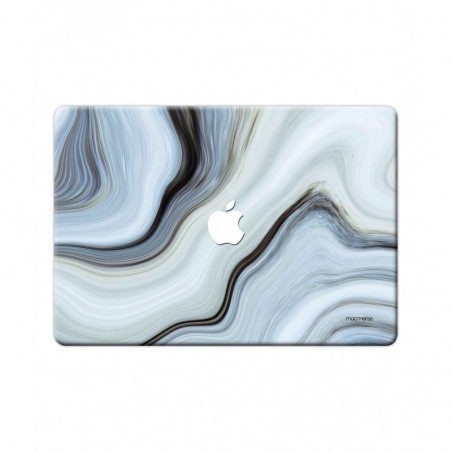 "Liquid Funk White - Full Body Wrap for Macbook Pro Retina 15"" (2013 - 2015)"