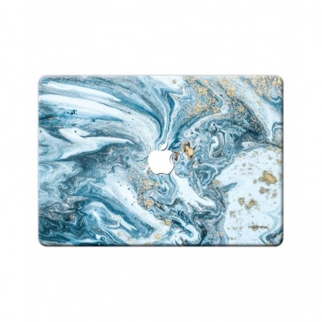 "Marble Blue Macubus - Full Body Wrap for Macbook Pro Retina 15"" (2013 - 2015)"