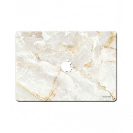 "Marble Creama Marfil - Full Body Wrap for Macbook Pro Retina 15"" (2013 - 2015)"